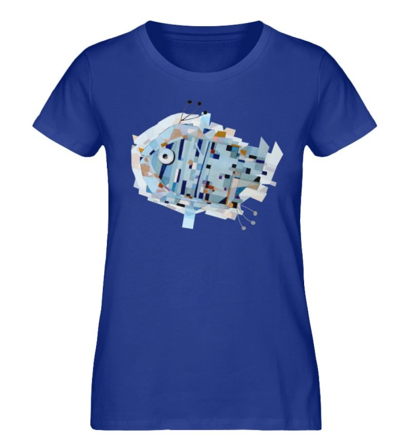 """pesce"" von Livio Cassa - Damen Premium Organic Shirt-668"