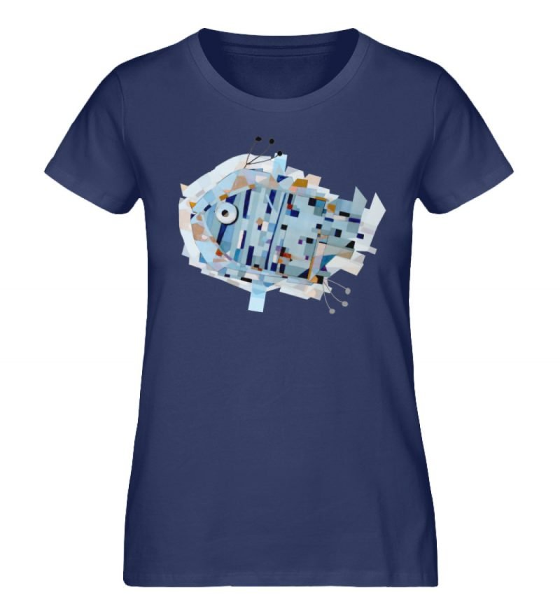 """pesce"" von Livio Cassa - Damen Premium Organic Shirt-6057"