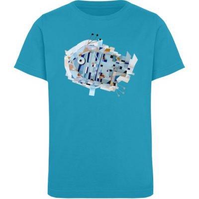 """""""pesce"""" von Livio Cassa - Kinder Organic T-Shirt-6877"""