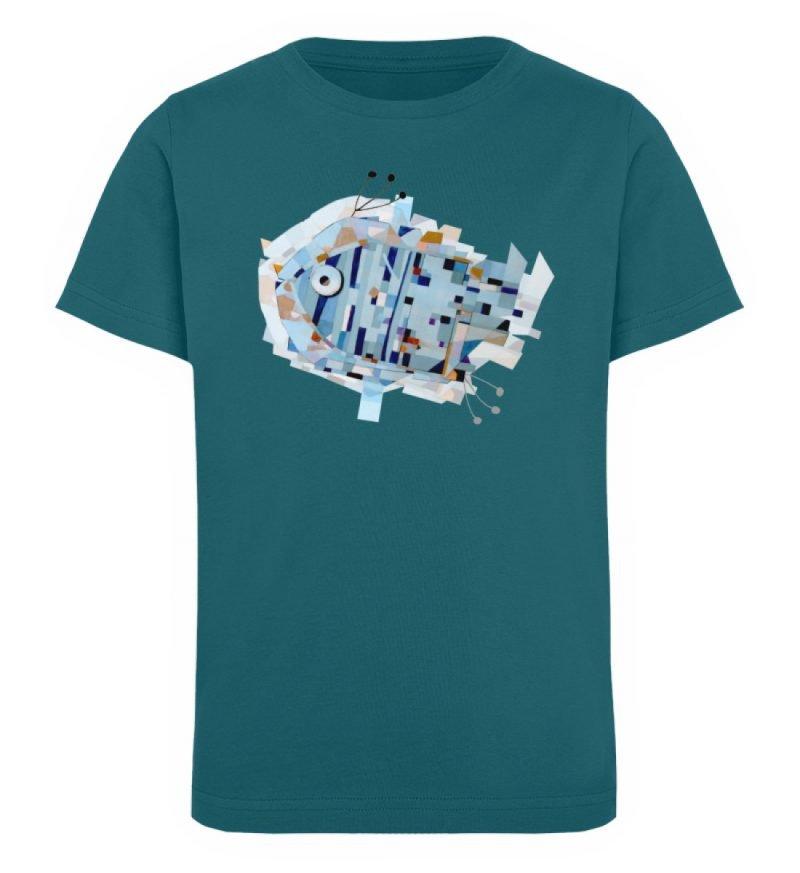 """""""pesce"""" von Livio Cassa - Kinder Organic T-Shirt-6878"""