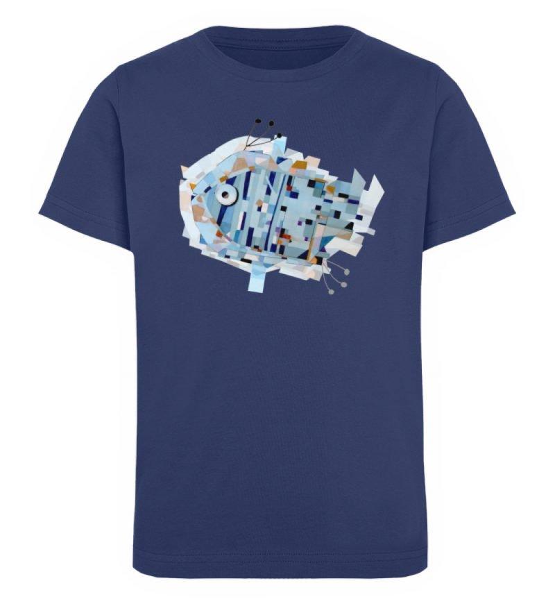 """""""pesce"""" von Livio Cassa - Kinder Organic T-Shirt-6057"""
