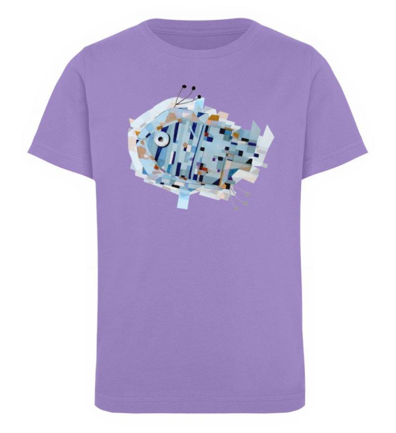"""""""pesce"""" von Livio Cassa - Kinder Organic T-Shirt-6884"""