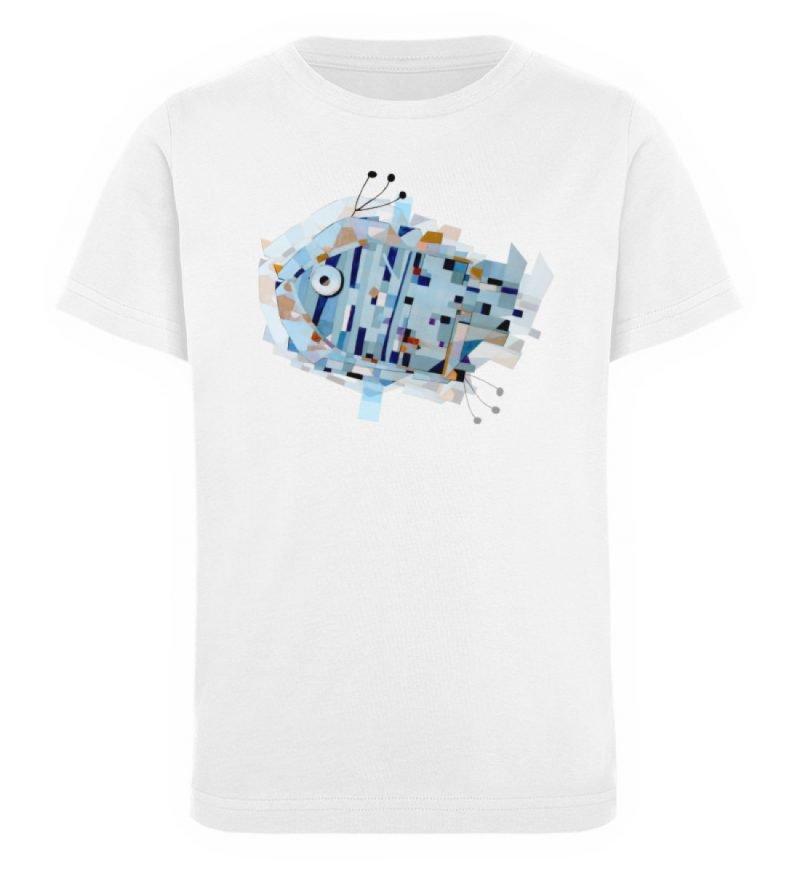 """""""pesce"""" von Livio Cassa - Kinder Organic T-Shirt-3"""