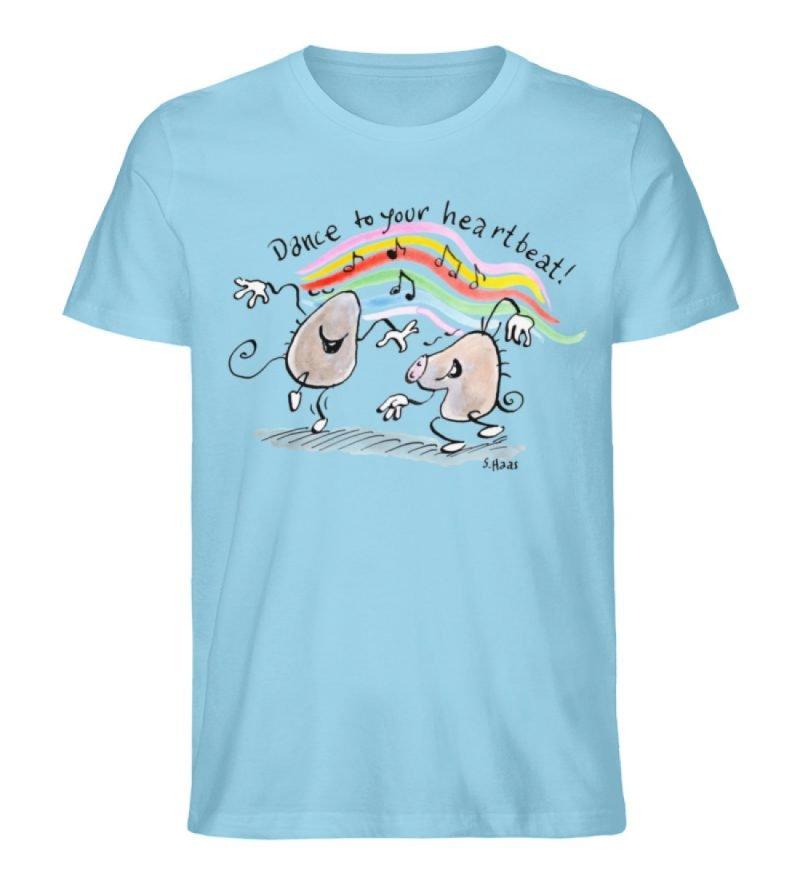 """""""Dance to your heartbeat!"""" von Steffen - Herren Premium Organic Shirt-674"""
