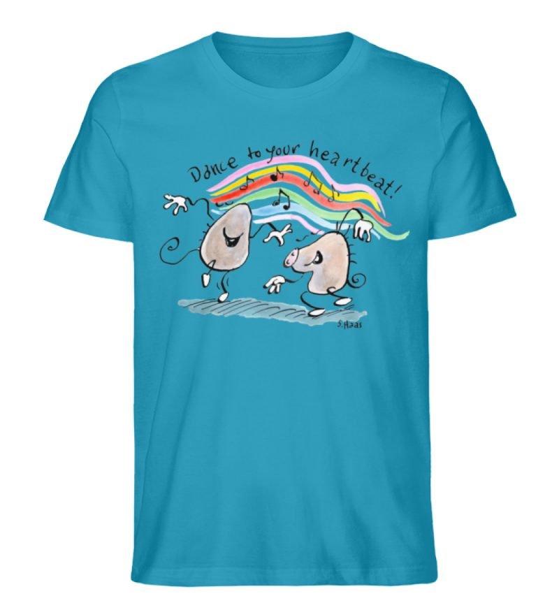 """""""Dance to your heartbeat!"""" von Steffen - Herren Premium Organic Shirt-6877"""