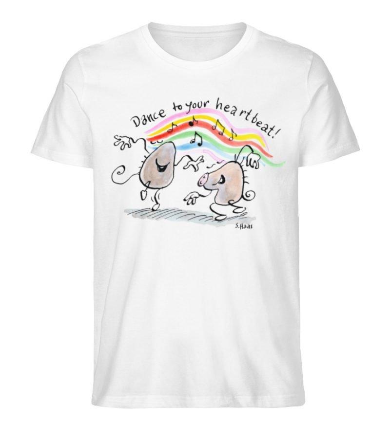 """""""Dance to your heartbeat!"""" von Steffen - Herren Premium Organic Shirt-3"""