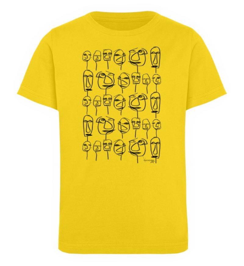 """""""weird society"""" von Vera Machourek - Kinder Organic T-Shirt-6885"""