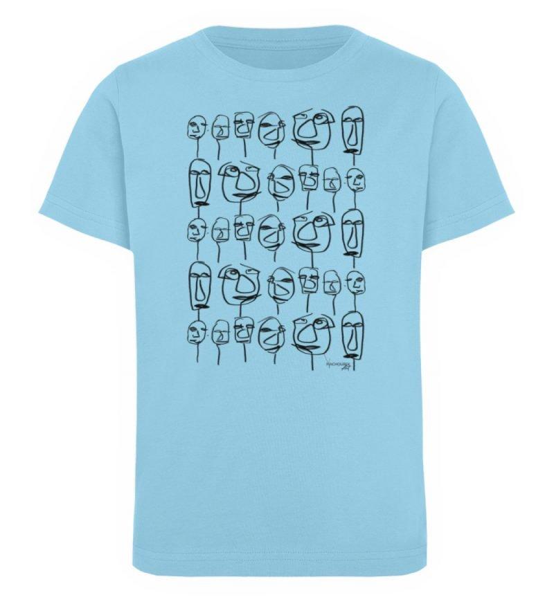 """""""weird society"""" von Vera Machourek - Kinder Organic T-Shirt-674"""