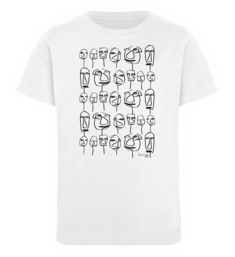 """""""weird society"""" von Vera Machourek - Kinder Organic T-Shirt-3"""