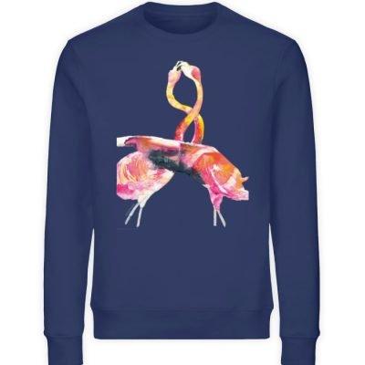 """""""crazy in love"""" von Sophia Kirst - Unisex Organic Sweatshirt-6057"""