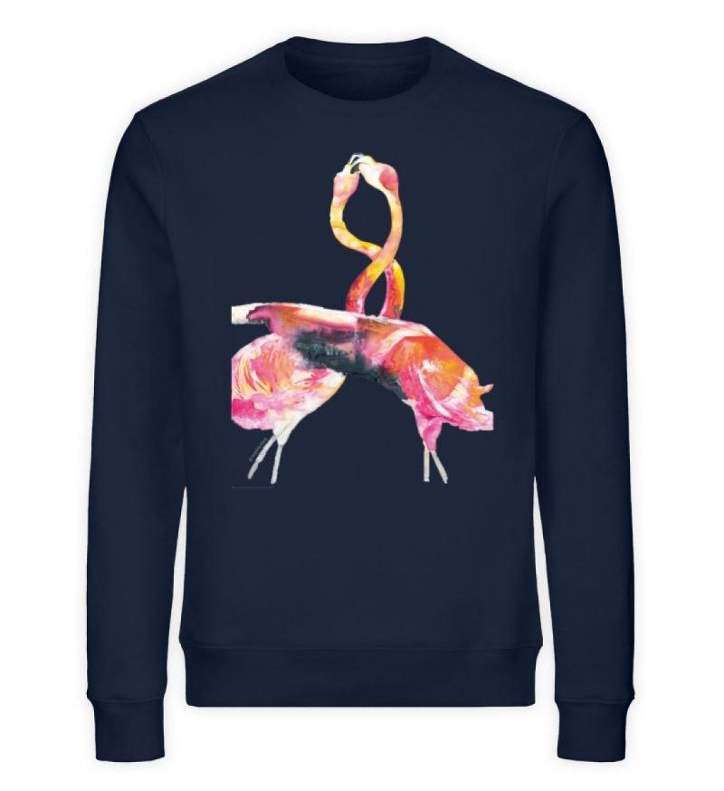 """""""crazy in love"""" von Sophia Kirst - Unisex Organic Sweatshirt-6959"""
