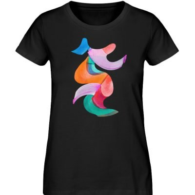 """""""Lob des Schattens"""" von Carolin Leyck - Damen Premium Organic Shirt-16"""