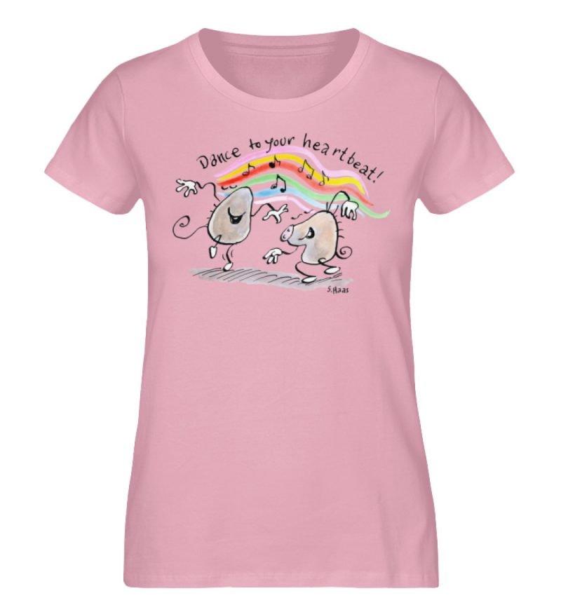 """""""Dance to your heartbeat!"""" von Steffen - Damen Premium Organic Shirt-6883"""