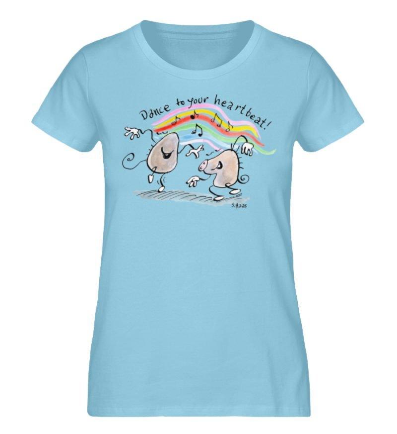 """""""Dance to your heartbeat!"""" von Steffen - Damen Premium Organic Shirt-674"""