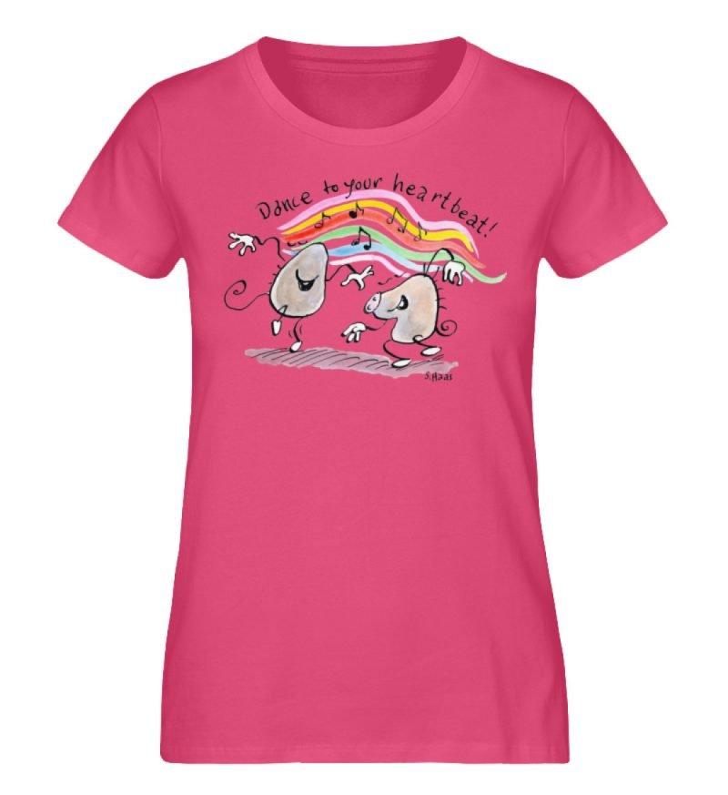 """""""Dance to your heartbeat!"""" von Steffen - Damen Premium Organic Shirt-6866"""