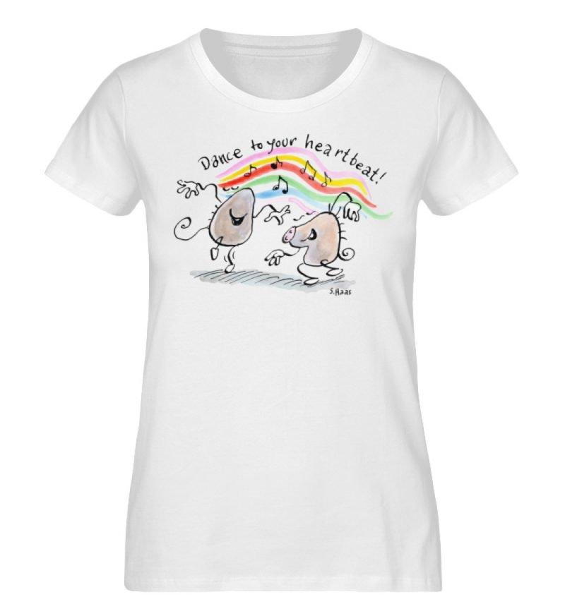 """""""Dance to your heartbeat!"""" von Steffen - Damen Premium Organic Shirt-3"""