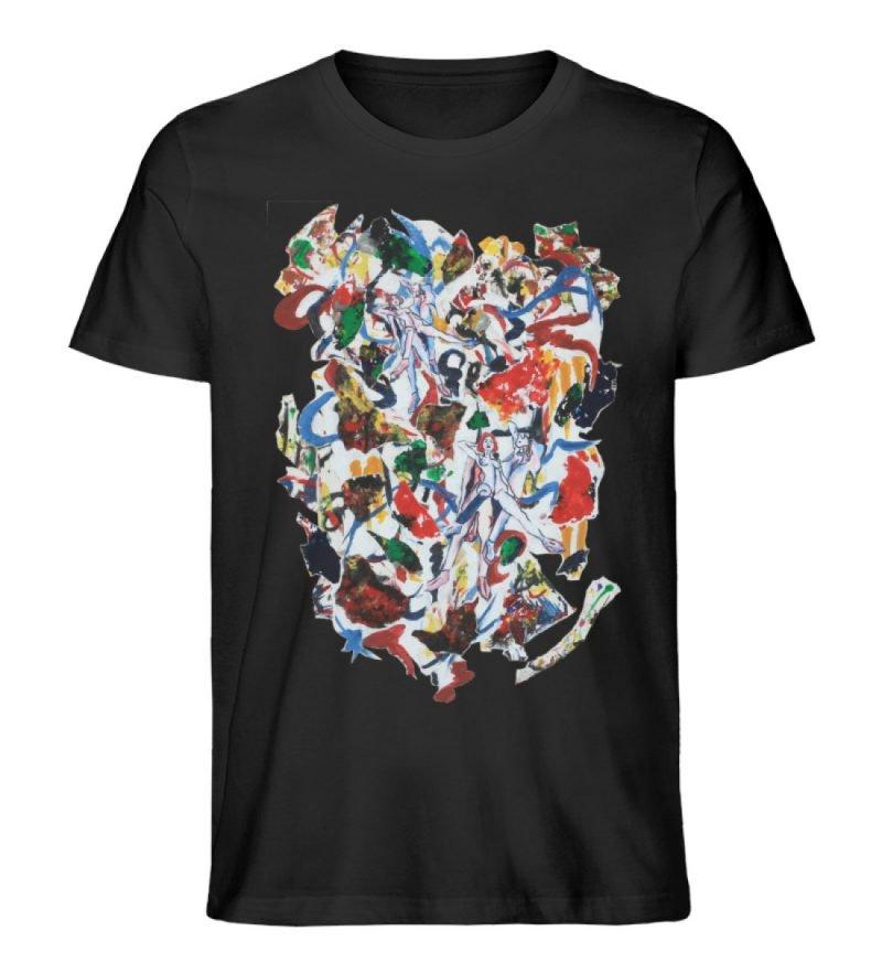 """Ring a Ring o-Rosie"" von Ira Bla - Herren Premium Organic Shirt-16"