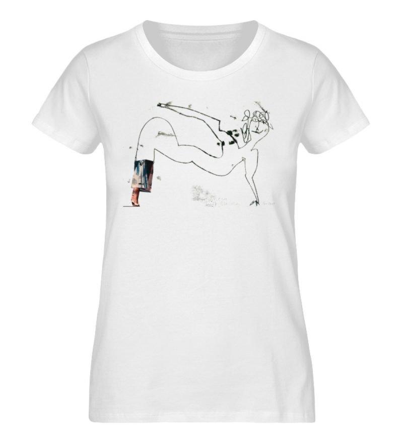 """""""Turnen mit Burda 1"""" von Heike Pillemann - Damen Premium Organic Shirt-3"""