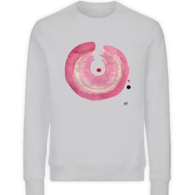 """Enso"" von Michela Buttignon - Unisex Organic Sweatshirt-17"