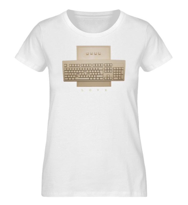 """""""Love"""" von Simon Haas - Damen Premium Organic Shirt-3"""