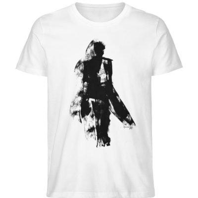 """""""abstacted silhuette"""" von Vera Machourek - Herren Premium Organic Shirt-3"""
