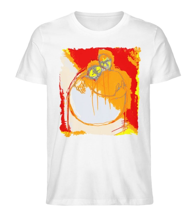 """un abbraccio"" von Michela Buttignon - Herren Premium Organic Shirt-3"