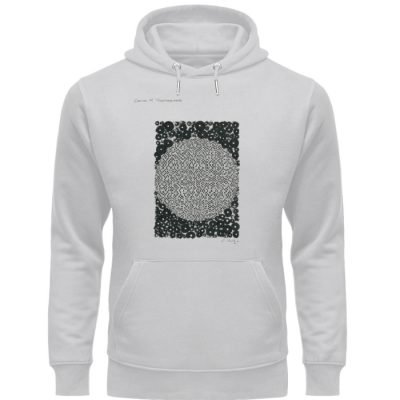 """circles of togetherness"" von C. Wurz - Unisex Organic Hoodie-17"