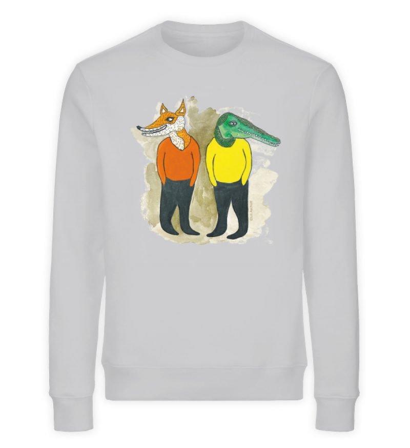 """""""see you later"""" von Lili Aschoff - Unisex Organic Sweatshirt-17"""