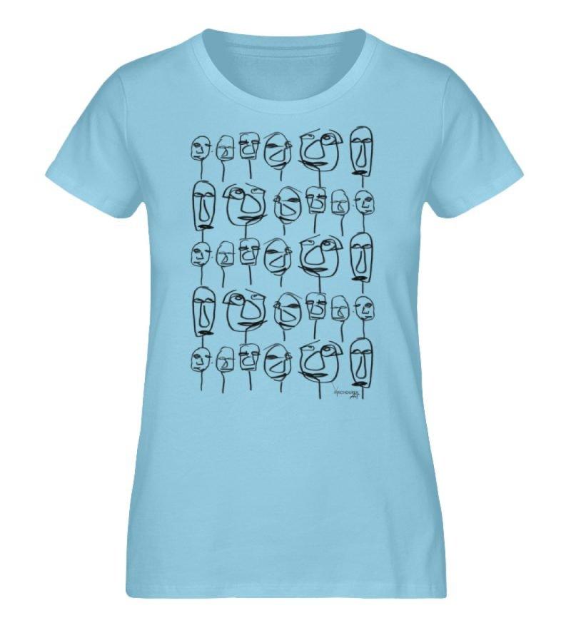 """""""weird society"""" von Vera Machourek - Damen Premium Organic Shirt-674"""