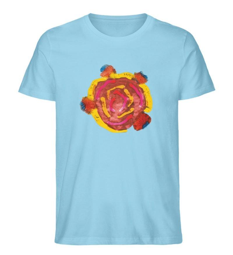 """""""Aus der Mitte 3"""" von Carolin Leyck - Herren Premium Organic Shirt-674"""