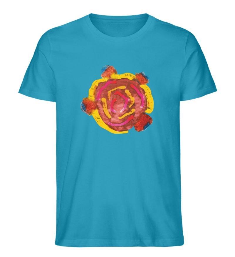 """""""Aus der Mitte 3"""" von Carolin Leyck - Herren Premium Organic Shirt-6877"""