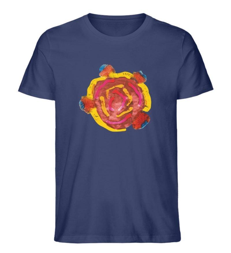 """""""Aus der Mitte 3"""" von Carolin Leyck - Herren Premium Organic Shirt-6057"""