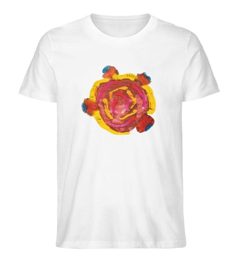 """""""Aus der Mitte 3"""" von Carolin Leyck - Herren Premium Organic Shirt-3"""