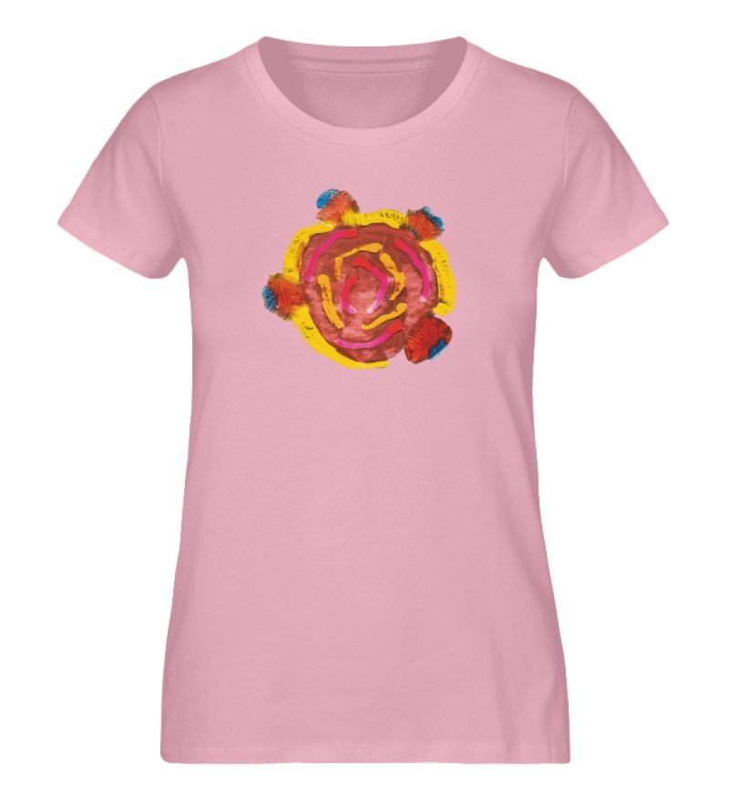 """""""Aus der Mitte 3"""" von Carolin Leyck - Damen Premium Organic Shirt-6883"""