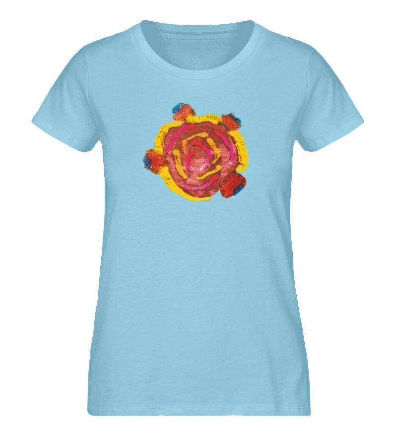 """""""Aus der Mitte 3"""" von Carolin Leyck - Damen Premium Organic Shirt-674"""