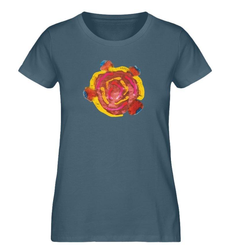 """""""Aus der Mitte 3"""" von Carolin Leyck - Damen Premium Organic Shirt-6880"""