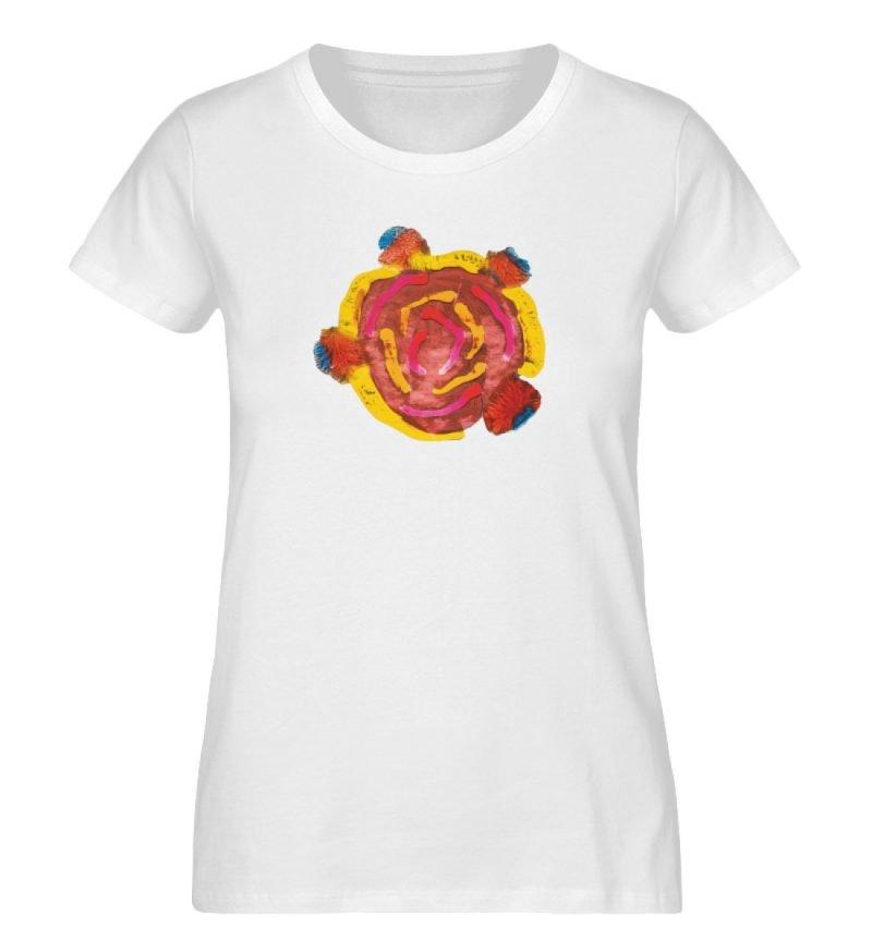 """""""Aus der Mitte 3"""" von Carolin Leyck - Damen Premium Organic Shirt-3"""