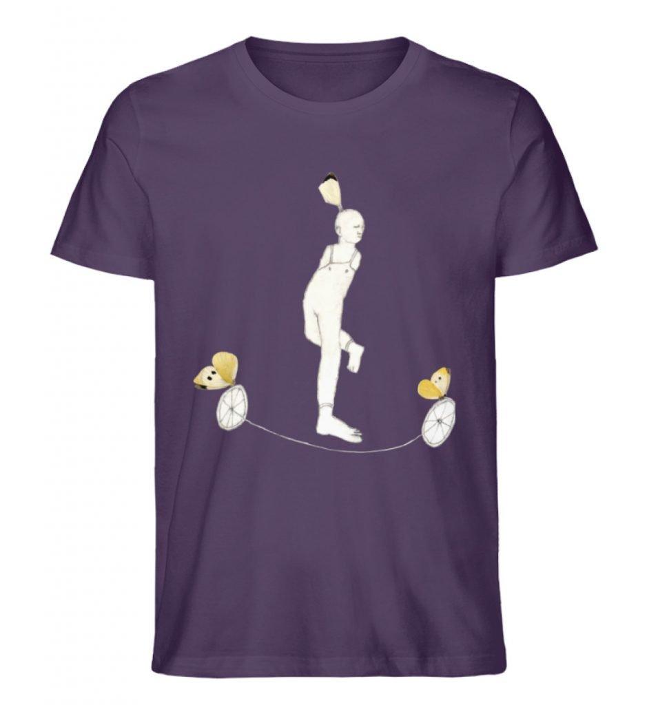 """""""Zampanello"""" von Elisabeth Endres - Herren Premium Organic Shirt-6876"""