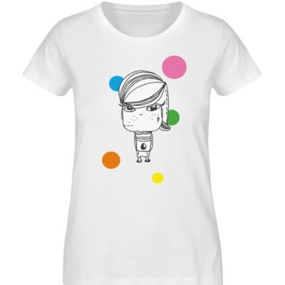 """""""Standpunkte Grunge"""" von Susanne Beucher - Damen Premium Organic Shirt-3"""