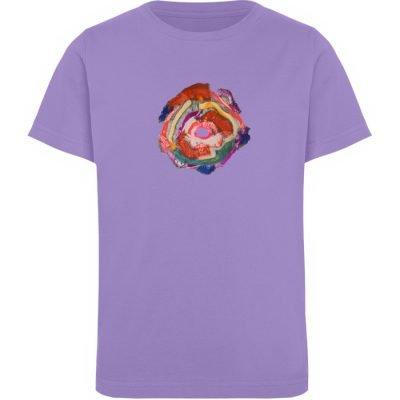 """""""Aus der Mitte 1"""" von Carolin Leyck - Kinder Organic T-Shirt-6884"""