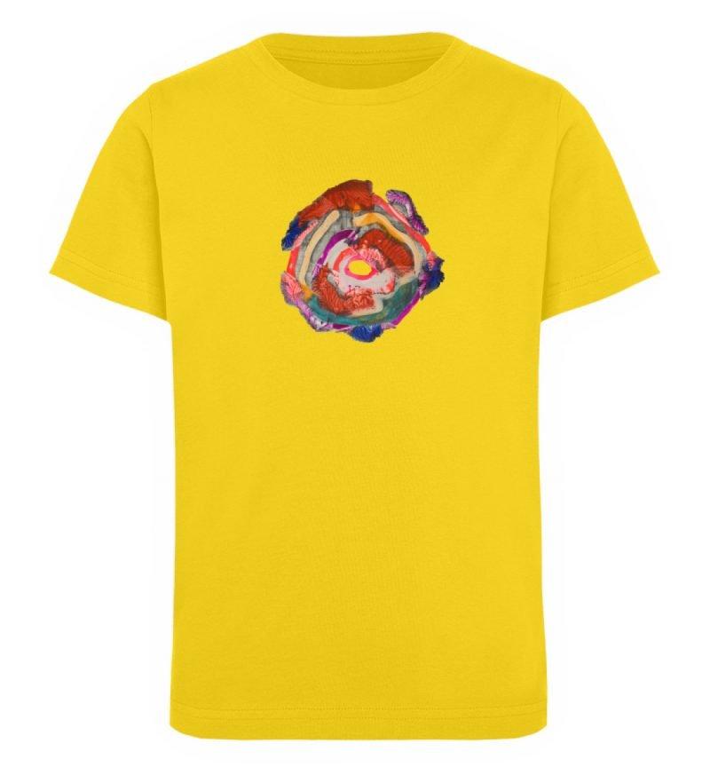"""""""Aus der Mitte 1"""" von Carolin Leyck - Kinder Organic T-Shirt-6885"""