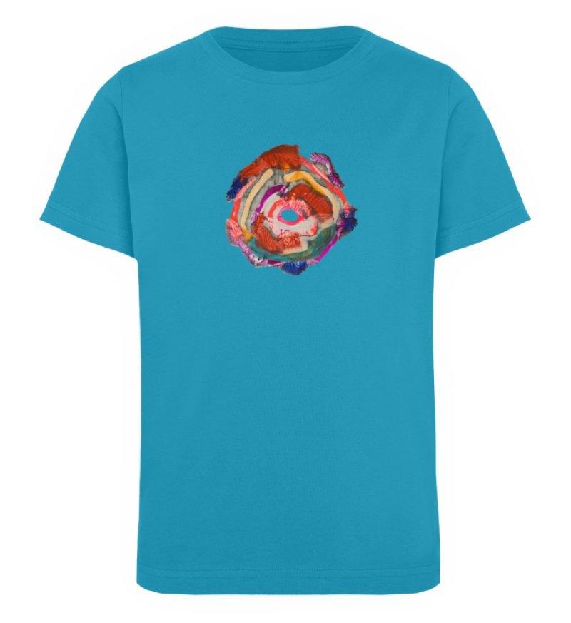 """""""Aus der Mitte 1"""" von Carolin Leyck - Kinder Organic T-Shirt-6877"""