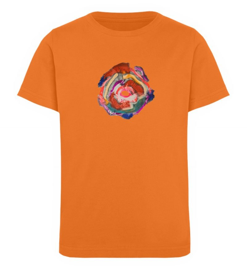 """""""Aus der Mitte 1"""" von Carolin Leyck - Kinder Organic T-Shirt-6882"""