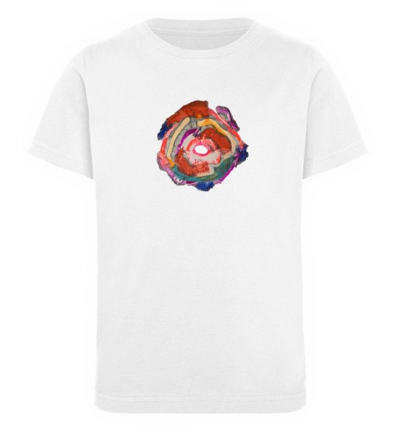"""""""Aus der Mitte 1"""" von Carolin Leyck - Kinder Organic T-Shirt-3"""