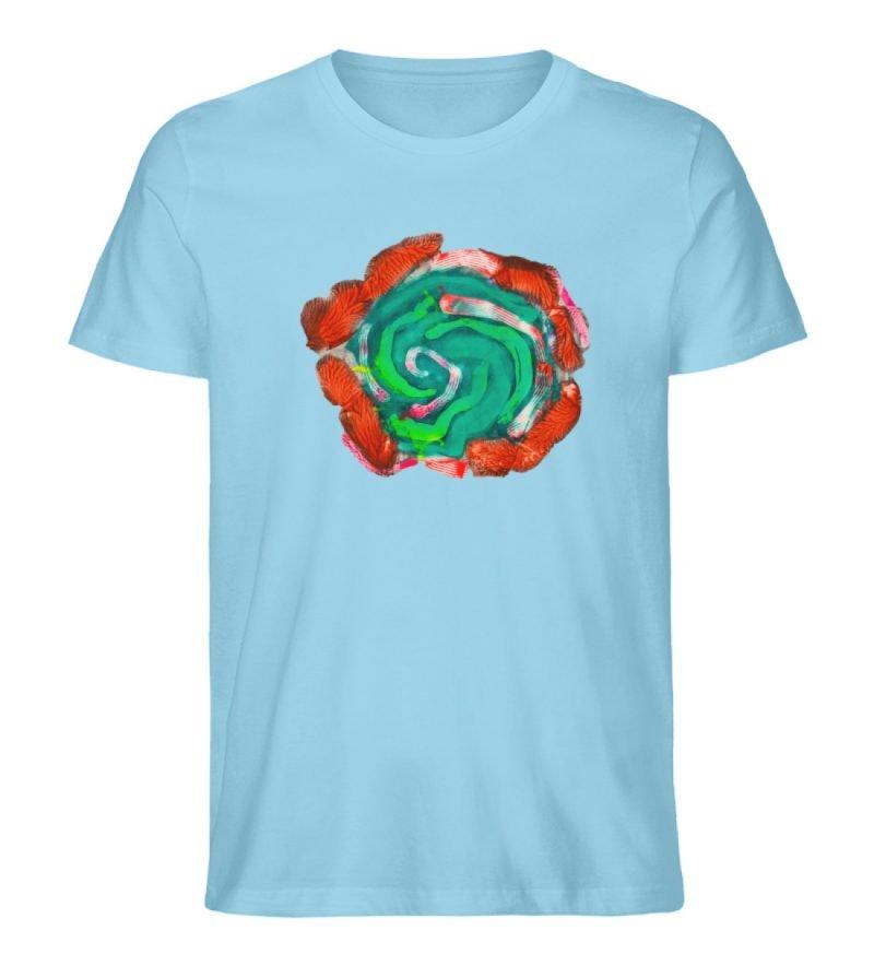 """""""Aus der Mitte 4"""" von Carolin Leyck - Herren Premium Organic Shirt-674"""