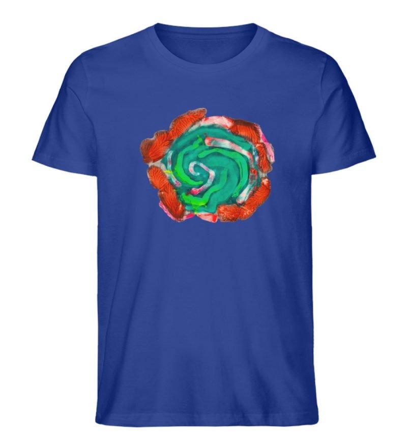 """""""Aus der Mitte 4"""" von Carolin Leyck - Herren Premium Organic Shirt-668"""