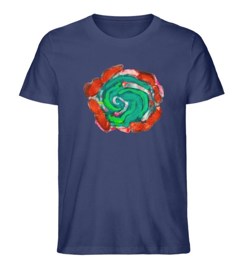 """""""Aus der Mitte 4"""" von Carolin Leyck - Herren Premium Organic Shirt-6057"""