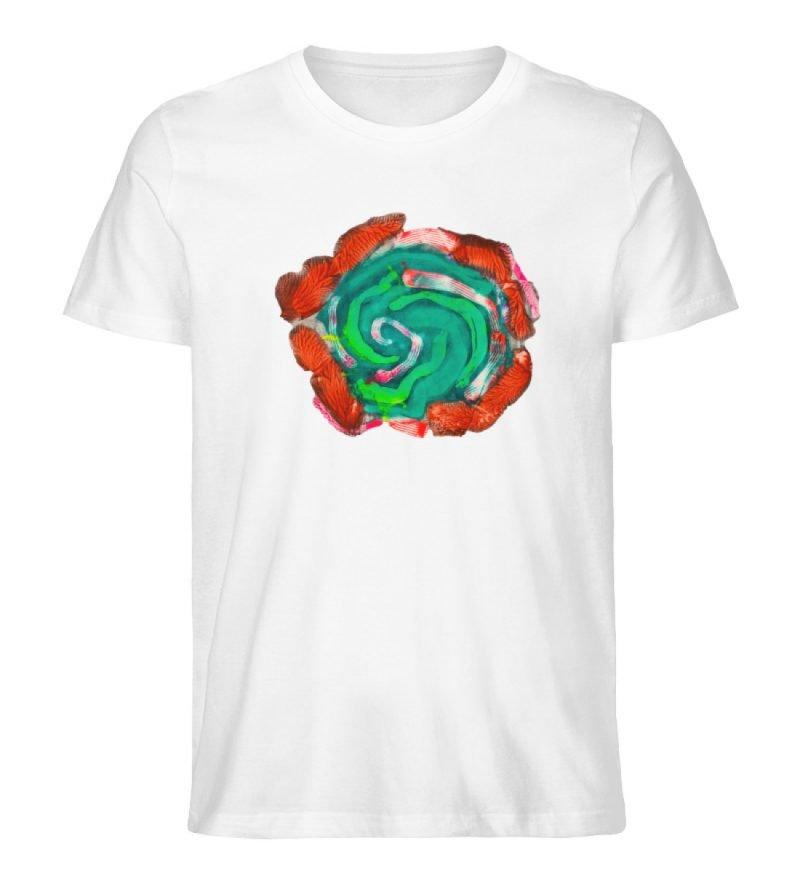 """""""Aus der Mitte 4"""" von Carolin Leyck - Herren Premium Organic Shirt-3"""