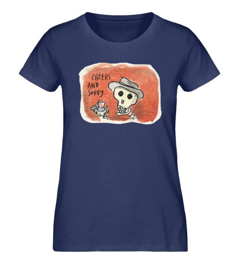 """""""Cheers and sorry"""" von Steffen Haas - Damen Premium Organic Shirt-6057"""
