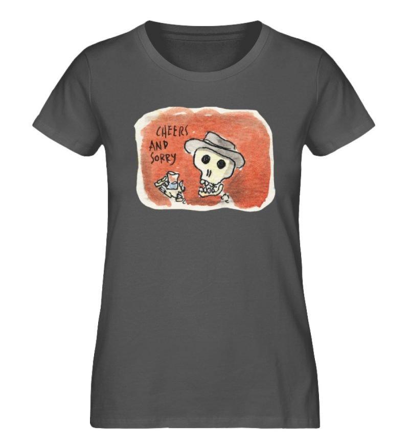 """""""Cheers and sorry"""" von Steffen Haas - Damen Premium Organic Shirt-6903"""